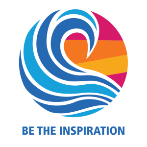 Logo for Rotary International's 2018/19 theme - Be The Inspiration