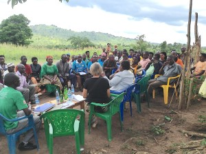 Microcredit group meeting